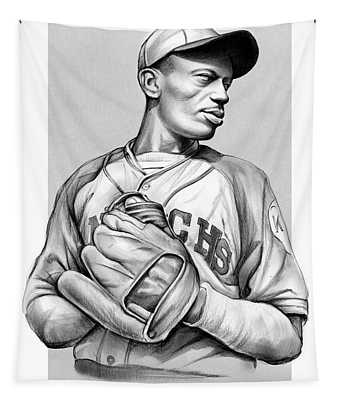 Satchel Paige Tapestry