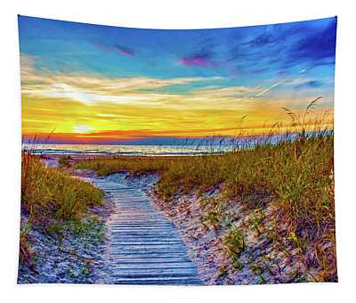Sauble Beach - Dune Path Tapestry
