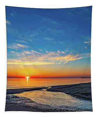 Sauble Beach Sunset 5 Tapestry