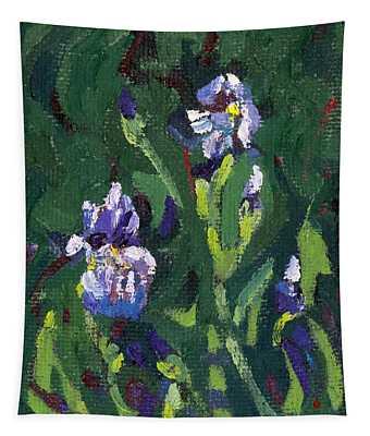 Saugeen Hillside Wild Iris Tapestry