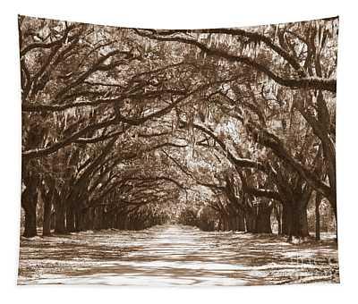 Savannah Sepia - Glorious Oaks Tapestry
