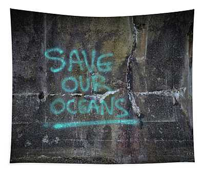 Save Our Oceans Tapestry