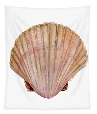 Scallop Shell Tapestry