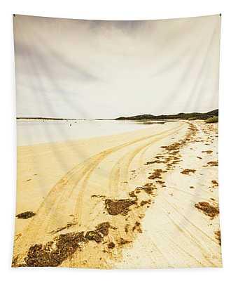 Scenic Coastal Calm Tapestry