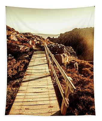 Scenic Summit Boardwalk Tapestry