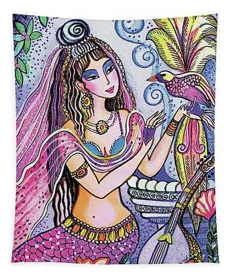 Scheherazade's Bird Tapestry