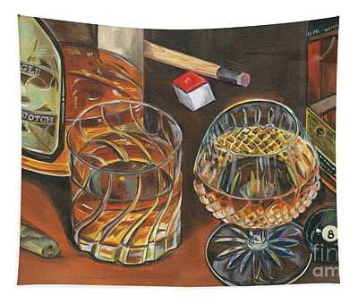 Scotch Cigars And Poll Tapestry