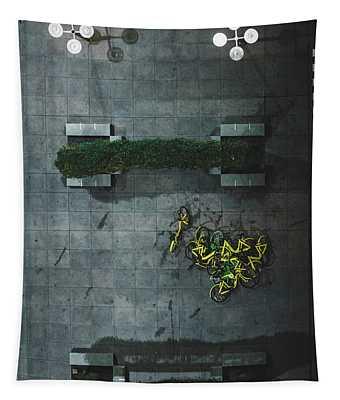 Scrap Metal Tapestry