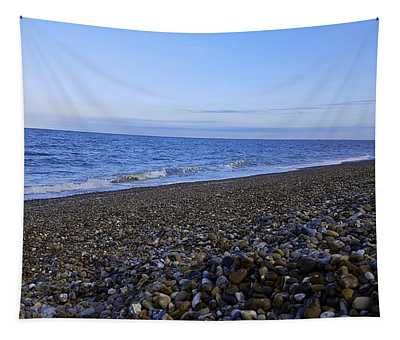 Sea Escape In Cool Blue Tapestry
