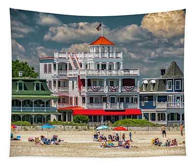 Sea Mist Hotel Tapestry