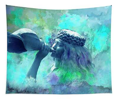 Sea Nymph Tapestry