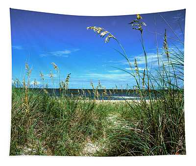 Sea Oat Dunes 11d Tapestry