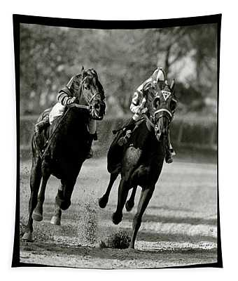 Seabiscuit Vs War Admiral, Match Of The Century, Pimlico, 1938 Tapestry