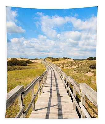 Seabound Boardwalk Tapestry