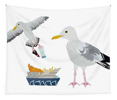 Seagulls Tapestry