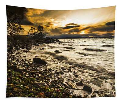 Seas Of Lunawanna  Tapestry