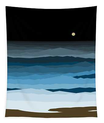 Seascape - Night Tapestry