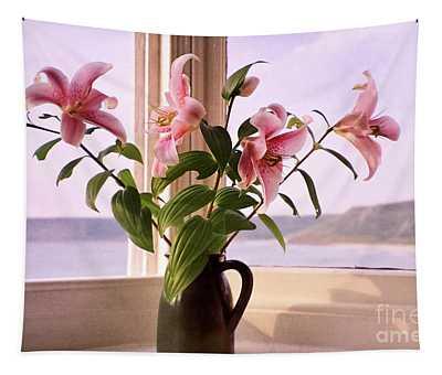Seaside Lilies Tapestry