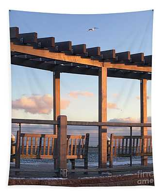 Seaside Seating  Tapestry
