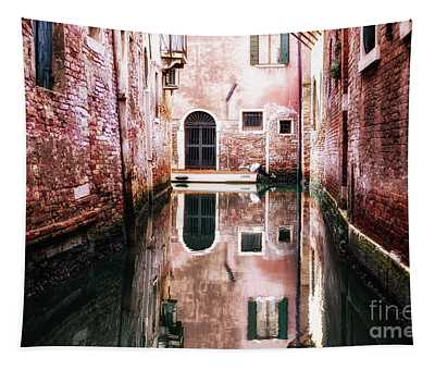 Tapestry featuring the photograph Secluded Venice by Miles Whittingham