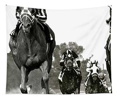 Secretariat, 1973 Kentucky Derby, Record Time Of 1 59 2 5ths Tapestry
