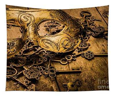Secrets Of Rome Tapestry