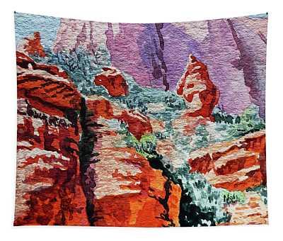 Sedona Arizona Rocky Canyon Tapestry