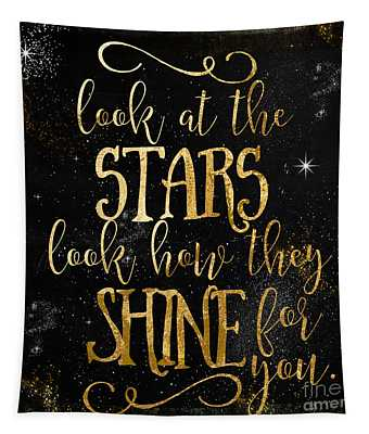 See How The Stars Shine Tapestry
