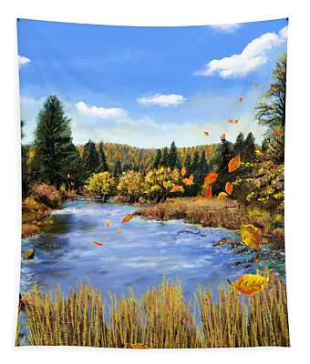 Seeley Montana Fall Tapestry