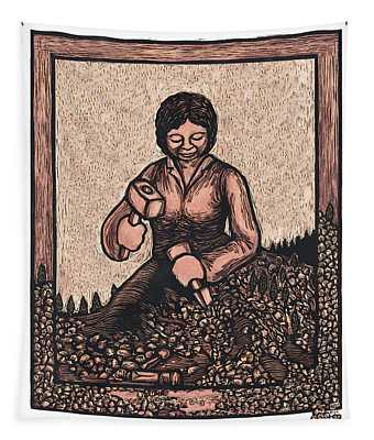 Self Made Woman Tapestry by Ricardo Levins Morales