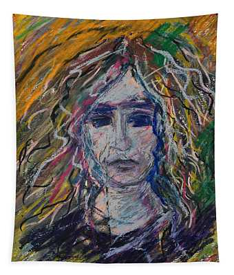 Self Portrait Tapestry