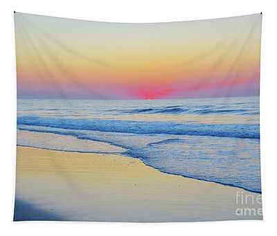 Serenity Beach Sunrise Tapestry
