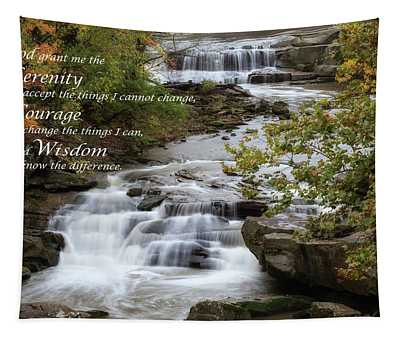Serenity Prayer Tapestry