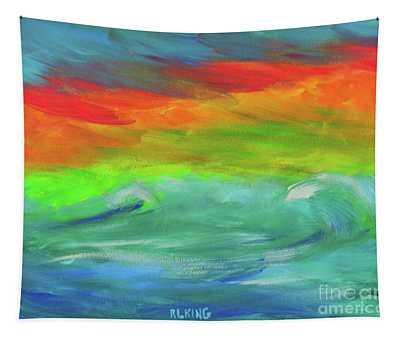 Serenity Sunrise  Tapestry