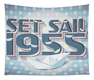 Set Sail 1955 Tapestry