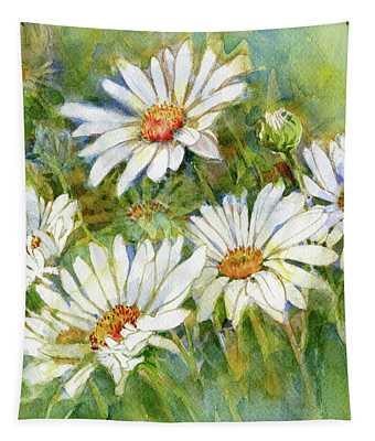 Shasta Daisies Tapestry