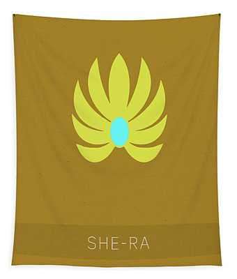She-ra Princess Of Power My Favorite Tv Shows Series 014 Tapestry