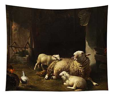Sheep Tapestry