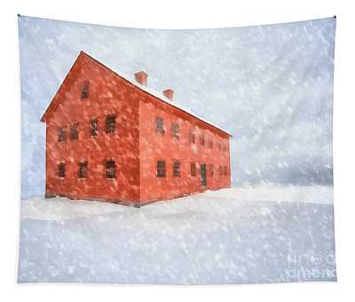 Shelter From The Storm Painting Tapestry