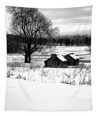 Shelters In The Snow Tapestry
