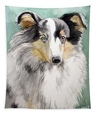 Shetland Sheep Dog Tapestry