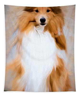 Shetland Sheepdog - Sheltie Tapestry