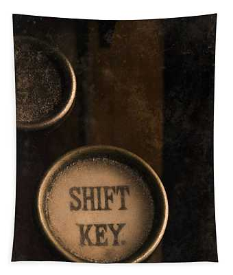 Shift Key Tapestry
