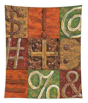 Shift Keys Tapestry