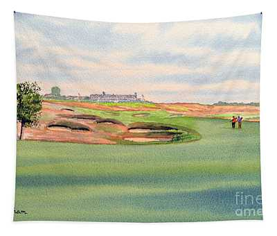 Shinnecock Hills Golf Course Tapestry