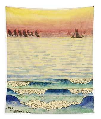 Ships At Sea Tapestry