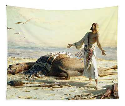 Shipwreck In The Desert Tapestry