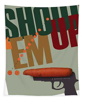 Shoot 'em Up Movie Poster Tapestry