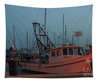 Shrimp Boat Tapestry