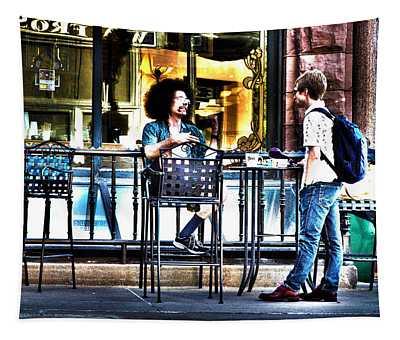 048 - Sidewalk Cafe Tapestry